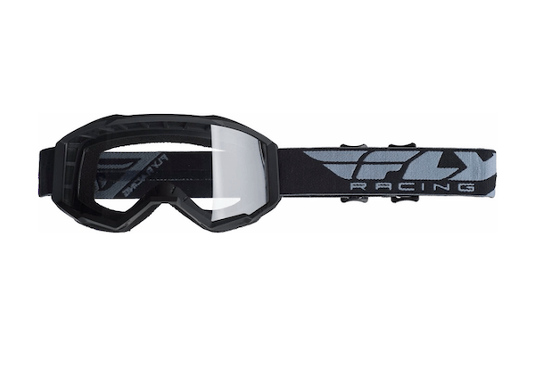 Fly Kids Focus Black/Clear Goggle