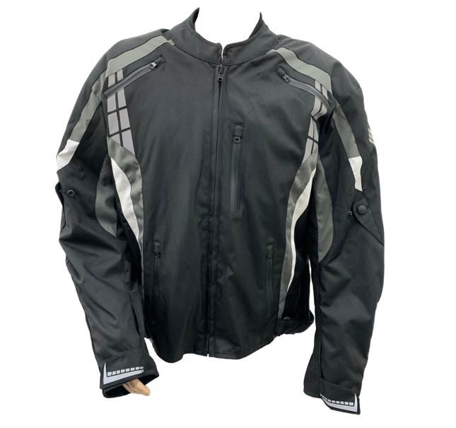 Rotracc Short Black/Grey Jacket - MC AUTO