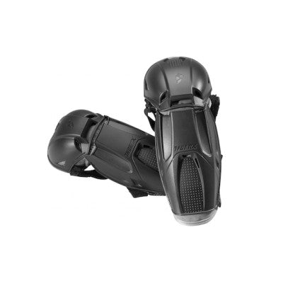 Thor Black Quadrant Elbow Guards - MC AUTO