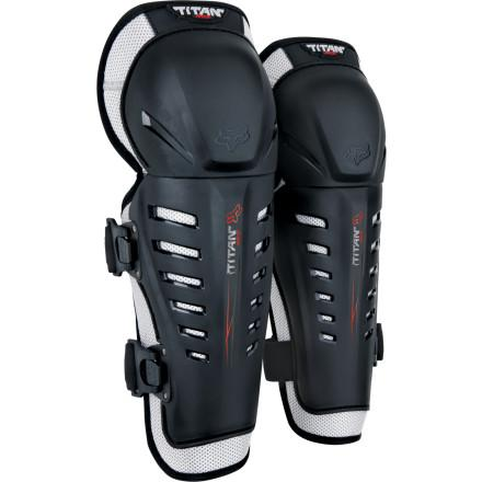 Fox Titan Race Knee/Shin Guards - MC AUTO