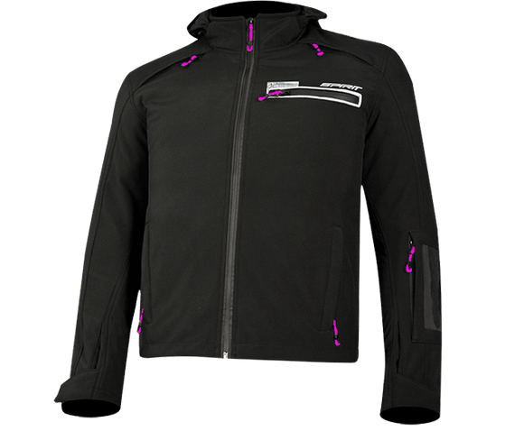 Spirit Urban O2 Black/Pink Jacket