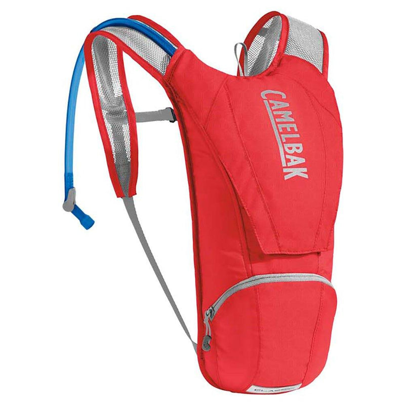 Camelbak Classic 2.5L Red/Silver Hydration Pack - MC AUTO