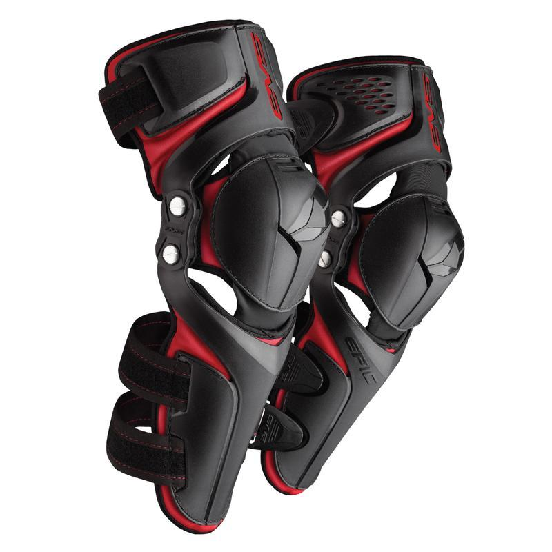 EVS Epic Black Knee Pads - MC AUTO