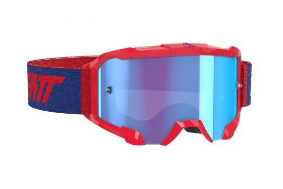 Leatt Velocity 4.5 Red/Blue Goggle - MC AUTO