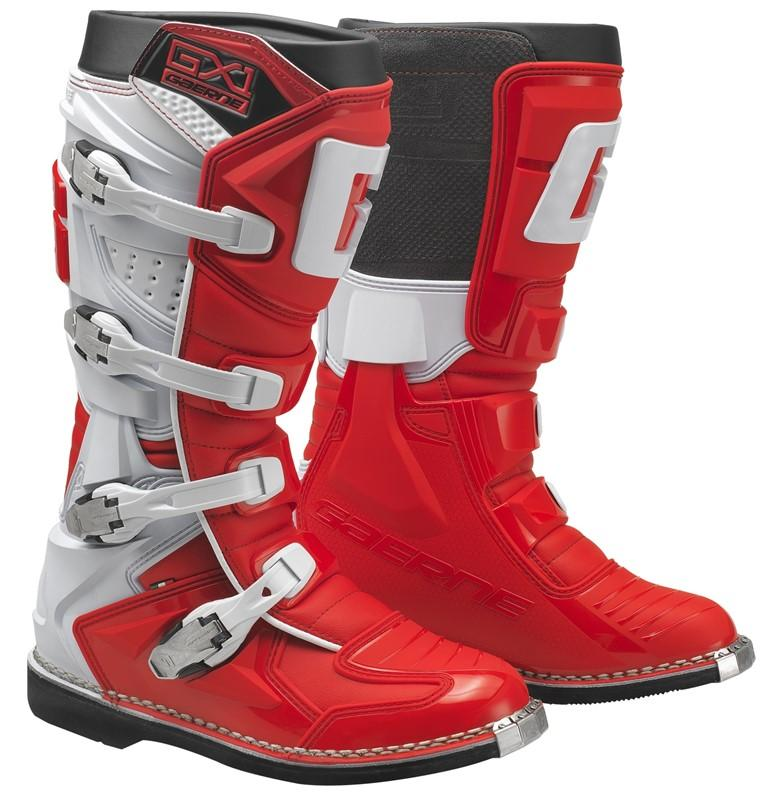 Gaerne GX1 GoodYear Red/White Boots - MC AUTO
