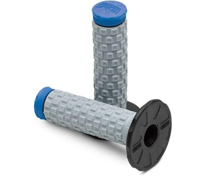 ProTaper Pillow Top Black/Grey/Blue MX Grips - MC AUTO