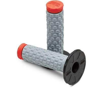 ProTaper Pillow Top Black/Grey/Red MX Grips - MC AUTO