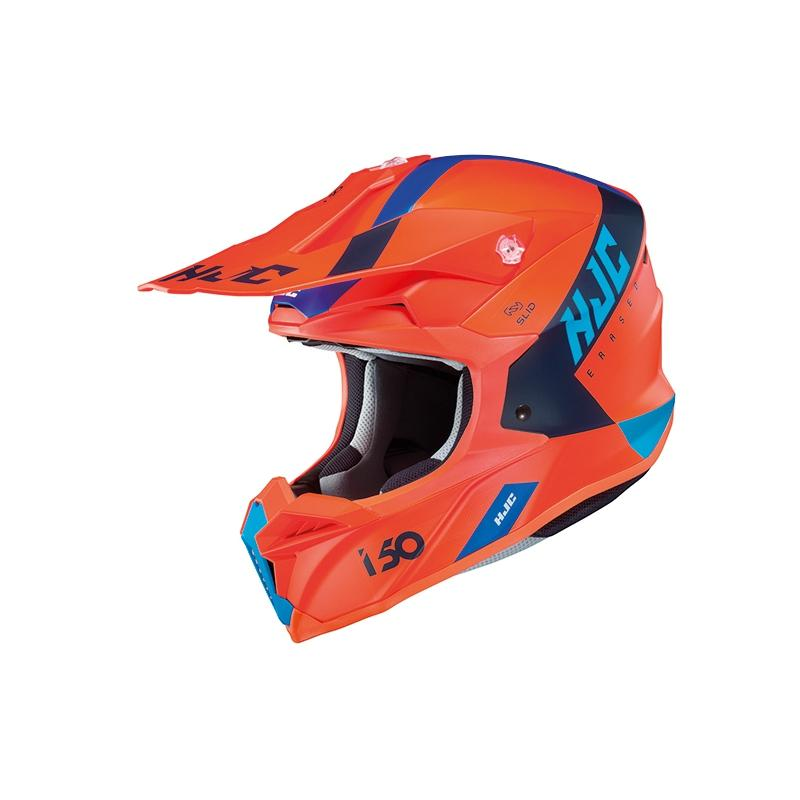 HJC I50 Erased Orange Helmet - MC AUTO