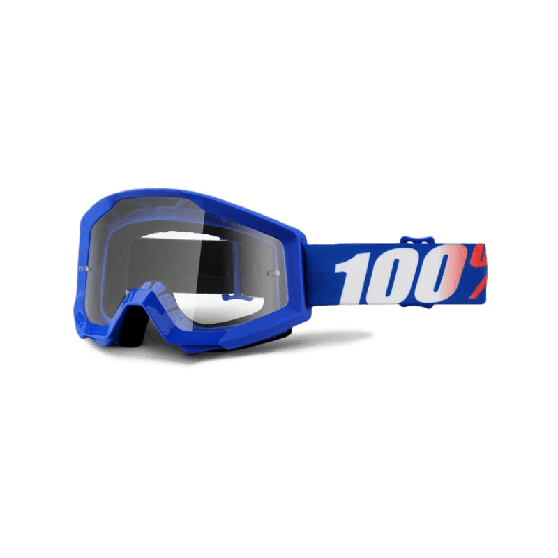 100% Strata Nation Clear Goggle - MC AUTO