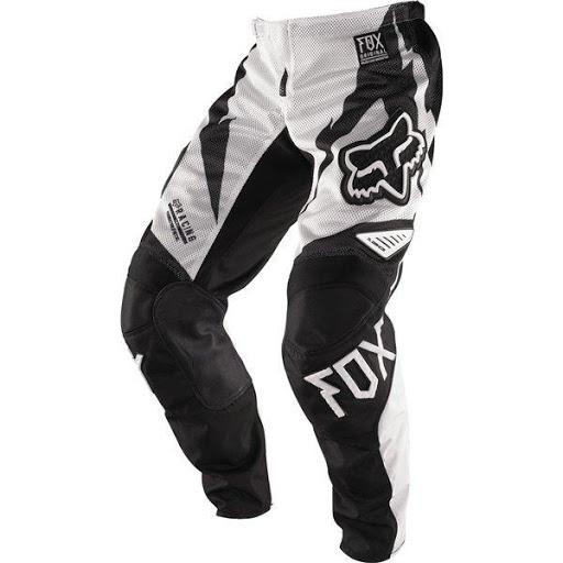 Fox Kids 180 Giant Black/White Vented Pants - MC AUTO