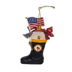 FIREMAN BOOT ORNAMENT