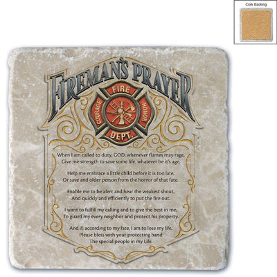 Fireman's Prayer Coaster