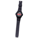 Awesome Firefighter Aquaforce Thin Red Line Water Resistant Watch