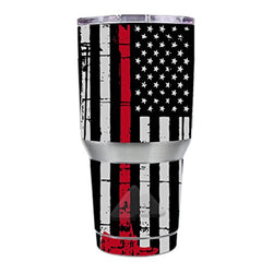 Thin Red Line Firefighter Tumbler