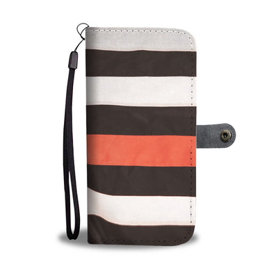 FLYING THIN RED LINE AMERICAN FLAG PHONE CASE WALLET