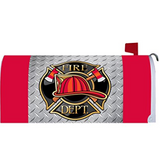 """ Proud Firefighter "" - Double Sided Garden Size Decorative Flag 12 X 18 Inches"