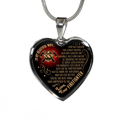 Love Your Husband, Beautiful Poetic Necklace