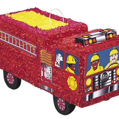 Spectacular Fire Engine Pinata