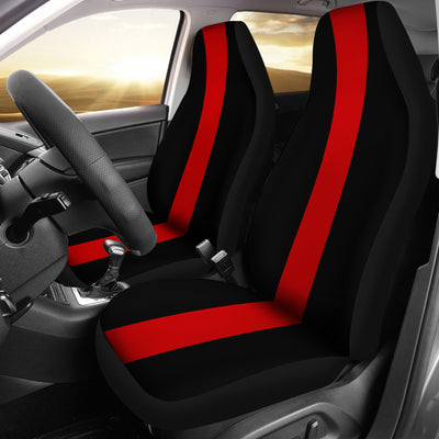 THIN RED LINE CAR SEAT COVERS (SET OF 2)