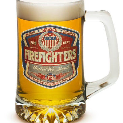 DENIM FADE FIREFIGHTER 25oz large Tankard'