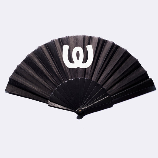 White Logo<BR>Fans Black (double pack)