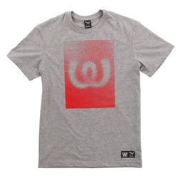 Dots Red<BR>Tee Grey