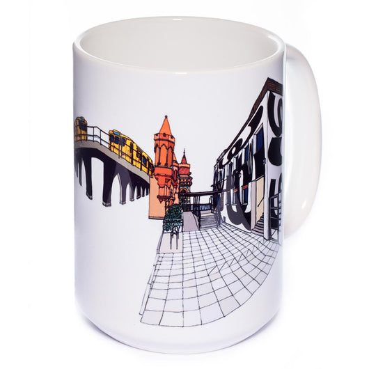 Illustration 'Watergate XV'<BR>Big Mug White (400ml)