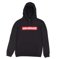 Logo Red<BR>Hoody Black