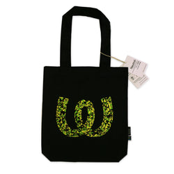 Vector Logo <BR> Twill Bag Black