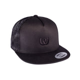 Logo Black<BR>Trucker Cap Black