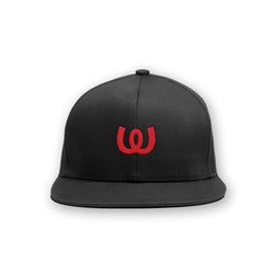 Logo Red<BR>Cap Black