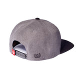 Logo Black<BR>Cap Two Tone Grey