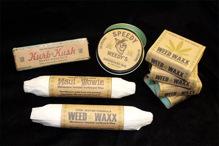 WEED SURF WAX? YEP IT'S A THING