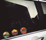 Car stickers Outdoor and Camping Colorful
