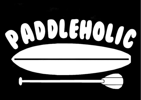 PADDLEHOLIC Stickers