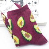 FRUIT PRINTED FUNKY SOCKS
