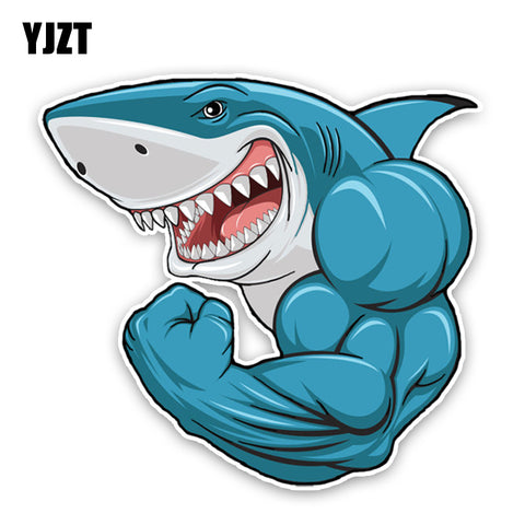 Strong Shark Sticker buy 2 one  free