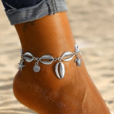 Summer Beach Turtle Shell Anklets For Women