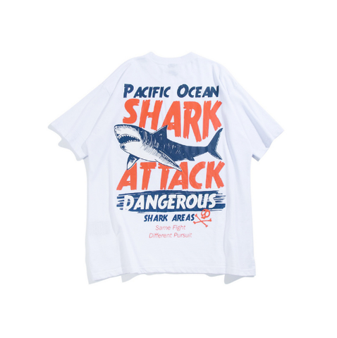 Dangerous Big Shark Tshirt for Men and Women