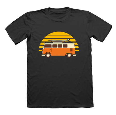 Sunset Van Men's T-Shirt