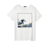 T-SHIRT FOR WOMEN WITH THE FAMOUS KANAGAWA WAVE PRINT