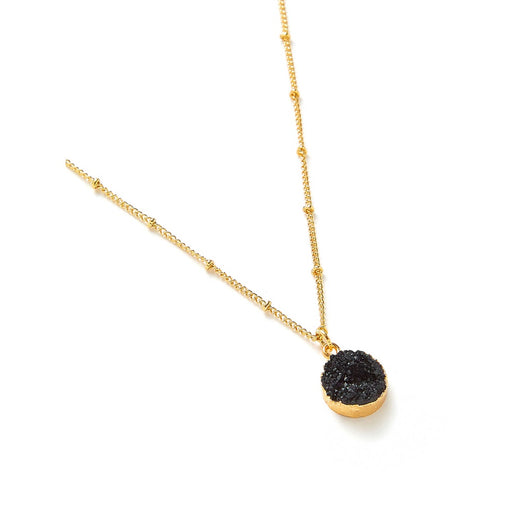 Round Pendant Chain Necklace