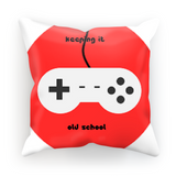 Keeping it old school Cushion