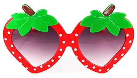 Kids Strawberry Sunglasses