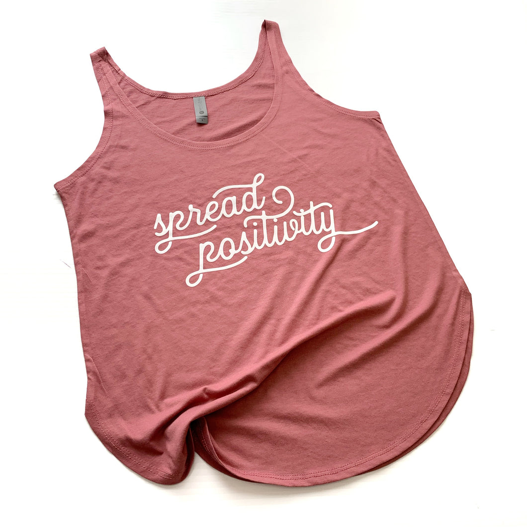 Spread Positivity Paprika Women's Tank