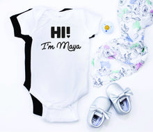 Introduction Onesie | Hi I'm ______