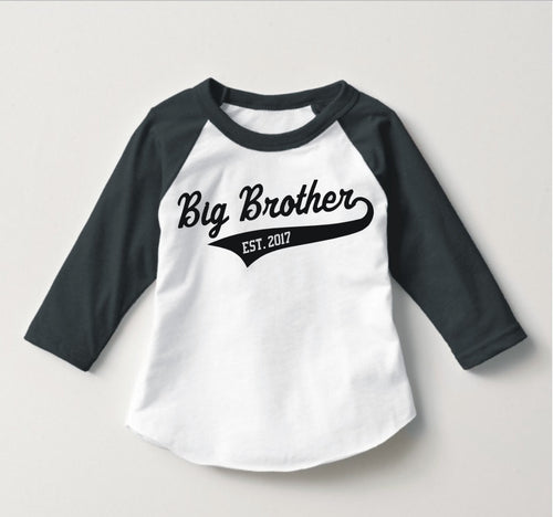 Big Brother Raglan Personalized with Year