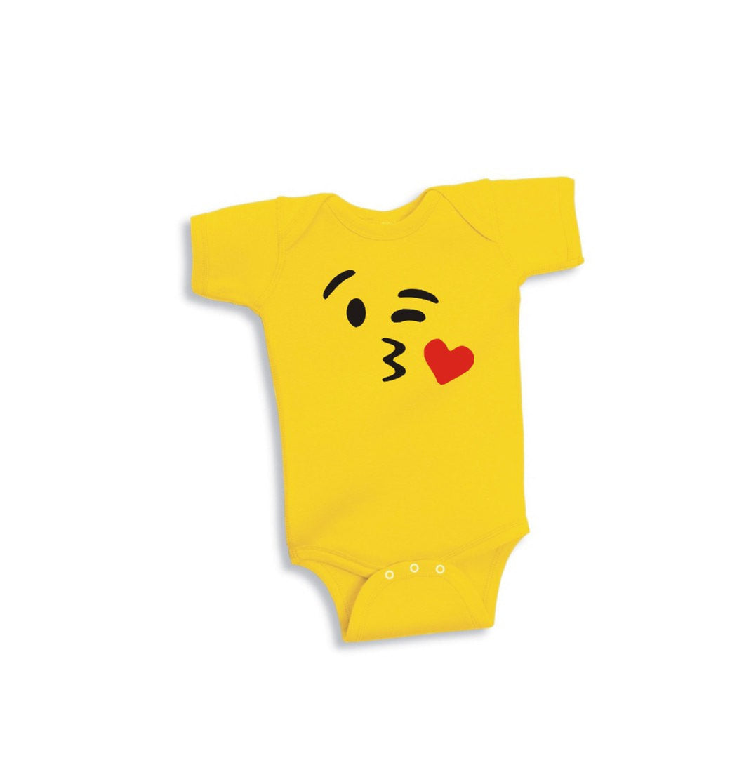 kiss-emoji-kids-infant-bodysuit-cute-fun-onesie-for-babies-by-jam-threads
