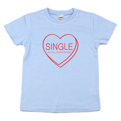Single Candy Heart Kids Tee