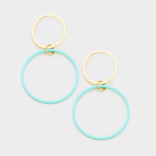 Double Mint Hoops